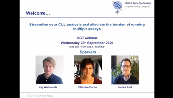 Streamline your CLL CNV analysis and alleviate the burden of running multiple assays Image